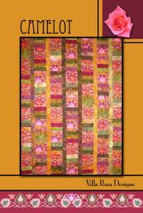 Camelot VRD RC081 Villa Rosa Design Pattern Card