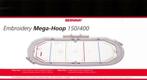 "Bernina 030580.75.00 Mega Hoop 6x15.75"" 150x400mm Continuous Borders"