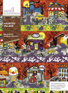 Anita Goodesign 290AGHD Haunted Village Mix & Matching Quilting Collection