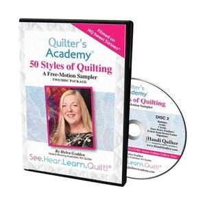 Handi, Quilter, HL00432, Helen, Godden, Sweet, Sixteen, 50, styles, Quilting, 2, DVD, set