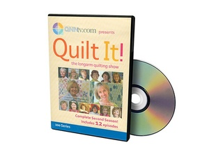 Handi Quilter HL00551 Quilt It! The Longarm Quilting Show DVD Series 2