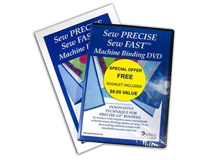 Handi Quilter HL00500 Sew Precise Machine Binding DVD Video Instructions