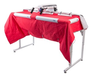 "Brother SAQCF100 Dream Fabric Frame 3x5ft for 15"" Arm DQLT, Dream Quilter Machines, Adjust Height for Stand Up or Sit Down, 6 Rail Clamps, Starter Kit"