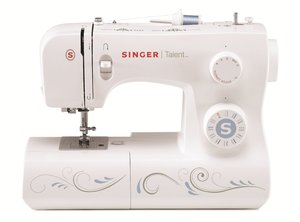 Singer 3323S Talent 23-Stitch Mechanical Sewing Machine, 1-Step -Buttonhole, Threader, Top Bobbin, Heavy Duty Metal Frame,