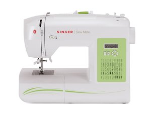 Singer, 5400FS, Fashion, Sew, Mate, 60, Stitch, Electronic, Sewing, Machine, 4x1, Step, Button, hole, Variable, Needle, Position, Factory, Serviced, Same, Warranty, New