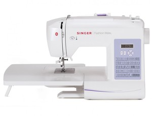 SINGER, 5500FS, Fashion, Mate, 100, Stitch, Computer, Electronic, Sewing, Machine, Extension, Table, Factory, Serviced