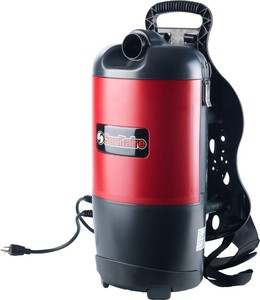 Sanitaire SC412B Commercial Back Pack Vacuum Cleaner 6 Quarts (Replaces SC412A)