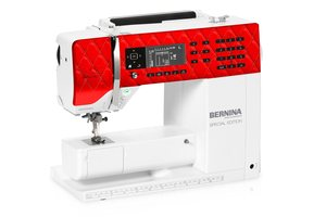 BERNINA 530 Swiss Red Computer Sewing Machine, Sew Contempo Houston TX