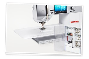 Bernina 560 676-Stitch Computer Sewing & Quilting Machine, Optional Embroidery Module & BSR Stitch Length Regulator, Now Avail Online Order, 0% 18M0*