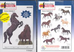 Amazing Design ADC5000 Large Horse Collection II Embroidery CD