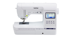Brother, SE1900, Simplicity, Brother, SB8000, 184, Stitch, Computer, Sewing, 5x7, Machine, 9, Font, 136, Designs, 15200, DVD, CD, USB, Stick, Hard, Case, Cover, 11, Feet