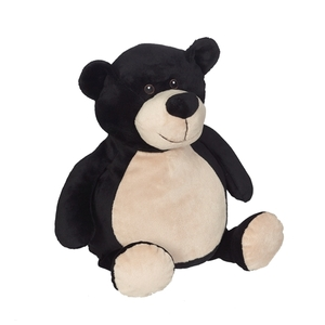 Embroider Buddy CC81098 Billy Black Bear 16 inch Embroidery Blank