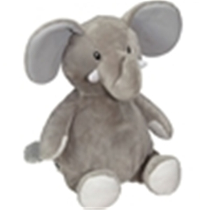 Embroider, Cubbie, Buddies, CC91091, Elford, Elephant, 16, inch, Embroidery, Blank