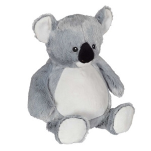 Embroiderer, Cubbie, Buddies, CC81091, Kory Koala, 16 inch, Embroidery Blank