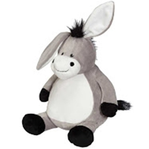 Embroiderer Cubbie Buddies CC91094 Duncan Donkey 16 inch Embroidery Blank