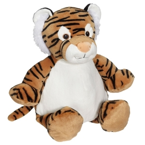 Embroiderer, Cubbies, Buddies, CC91090, Tory, Tiger, 16, inch, Embroidery, Blank