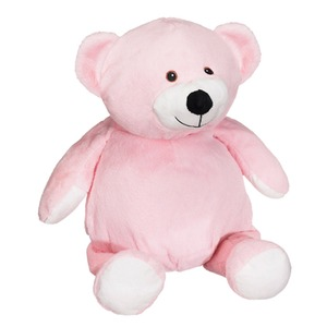 "Embroiderer Cubbies Buddies CC91098P Pink Mister Buddy Bear 16"" Embroidery Blank"