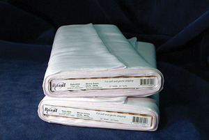 "Bosal 304 - Soft Sew-in Interfacing in White - 23""x25Yd Bolt"