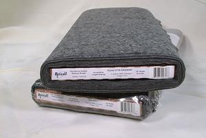 "Bosal BOS317 Charcoal NonWoven Fusible Mediumweight 100 polyester 20""x40Yds"