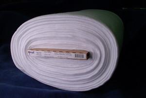 Bosal, BOS325, White, Woven, Fusible, Interfacing, Batting, 100, Polyester, 45, 15, Yard, Bolt