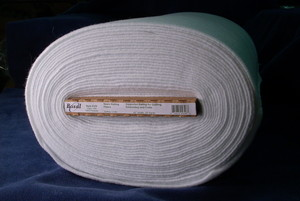 "Bosal, BOS326, White, Woven, Sew-in, Interfacing, Batting, 100 Polyester, 45""x20Yds Bolt"