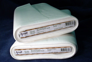 "Bosal, BOS334, White, Fusible, Craft, Interfacing, Dura-Fuse, 100 Polyester, 20""x25Yds Bolt"