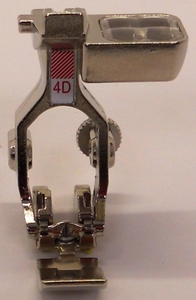 Bernina 033221.70.00 FOOT #4d Dual Feed Zipper