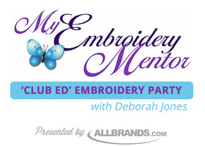 "event, party, class, meeting, Anita Goodesigns, 2 Day, ""Its A Party"", Embroidery, Applique, Lace, Cutwork, In The Hoop Quilting, Deborah Jones,Club Ed, Fri-Sat July 8-9, Riverfront Center Alexandria LA"