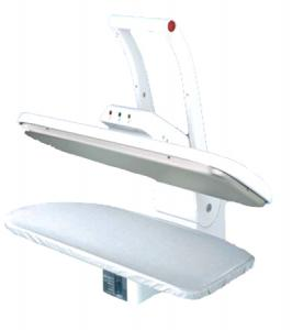 "Ricoma , PSP-990a, Steam & Dry, Ironing Board, stea, Press,  with  22.5""x9"", Pressing Surface, 1350 Watts, by Pro Steam, Ricoma PSP-990A Steam Ironing Press 22.5""x11"" Pressing Board UL (Pro Steam) 1350W, 100Lb Pressure, Auto Off, Optional Sit Down or Stand Up Metal Stand"