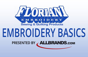 Class, Seminar, Event, Come & Embroider with the Master!, Floriani Embroidery Basics Tour, Thursday Oct 13, 10am-4:30pm at the Lafayette, LA Retail Store