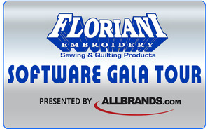 Class, Seminar, Event, Come & Embroider with the Master!,Floriani Software Gala Tour, Thursday Oct 13, 10am-4:30pm at the Lafayette, LA Retail Store