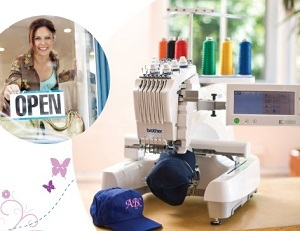 class, classes, event, seminar, Start Your Own Business, Brother Embroidery Machines, Trunk Show, Thursday September 8th, 10AM at the Lafayette, LA Retail Store, learn, group, education, teacher, learning