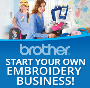 class, classes, event, seminar, Start Your Own Business, Brother Embroidery Machines, Trunk Show, Saturday May 20th, 10AM at the Lafayette, LA Retail Store, learn, group, education, teacher, learning