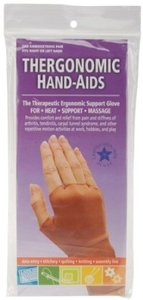 Thergonomic 040636 Hand-Aids Lycra Nylon Spandex Support Gloves, 1 Pair Small
