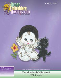 Great Notions 112179MH4 Inspiration Collection Lil Pierrot Embroidery CD