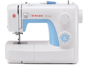 Singer, 3221, Simple, Mechanical, Sewing, Machine, Factory, Serviced, 1-Step, Buttonhole, Threader, Top Bobbin, Heavy Duty Metal Frame