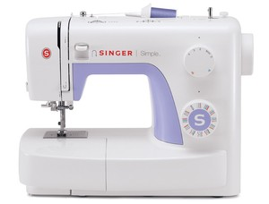 Singer, 3232, Simple, Mechanical, Sewing, Machine, Factory, Serviced, 1-Step, Button, hole, Threader, Top Bobbin, Heavy Duty Metal Frame