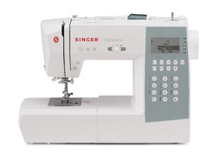 Singer, 9340, Signature, Computer, Sewing, Machine, Factory, Serviced, backlit, lcd, extension, table, auto, needle, threader, drop, feed