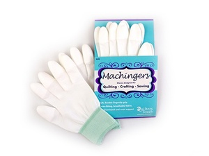 Handi Quilter HG00710 Machingers XS Extra Smalll Seamless Nylon Knit Gloves  to Hold Fabrics, Hoops or Rulers in Free Motion Quilting
