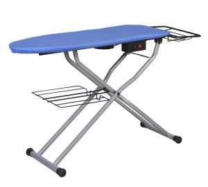 "Reliable, C81, reliable PA012/1, c81, PA012/1, PA0121, ironing board, Vacuum Up-Air, Pressing Table, Reliable C81 Foot Pedal Down Air Vacuum & Up Air Blowing Board, Heated Ironing Table, 49""x16"", Galvanized Steel Mesh, Iron Basket & Fabric Tray, ITALY"