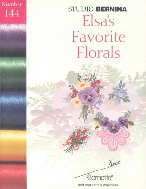 Bernina Deco 144 Elsa's Favorite Florals Embroidery Card