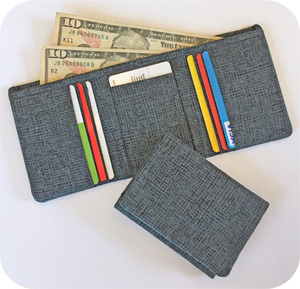 Embroidery, Garden, Men, TriFold, Wallet