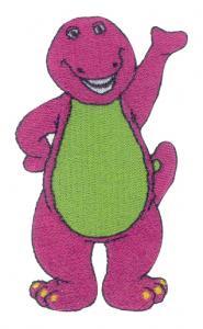 Amazing Designs PFMC BAR1 Barney Collection 1 Pfaff Embroidery Card