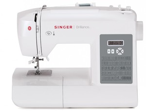 Singer, 6199, brilliance, computerized, Sewing, Machine, Factory, Serviced, 1-Step, Button, hole, Threader, 100, stitch, Heavy, Duty, Metal, Frame