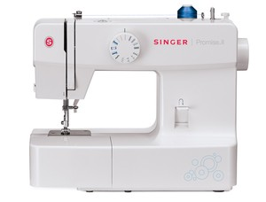 Singer, 1512, Promise, II, Mechanical, Sewing, Machine, Factory, Serviced, 13, built, in, stitch, 4, step, button, hole, adjust, length