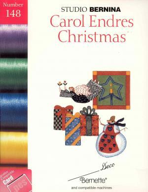 Bernina Deco 148 Carol Endres Christmas Embroidery Card