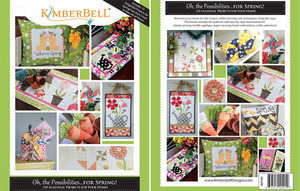 "Kimberbell KD702 ""Oh the Possibilities of Spring"" 10 Seasonal Projects Pattern Book"