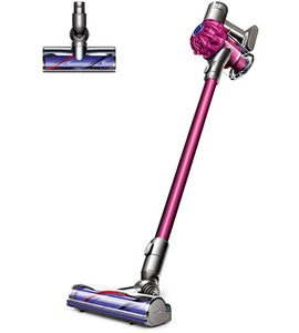 Dyson, v6, motor, head, cordless, vacuum, hygenic, mobile, handheld, docking, station, digital, motor