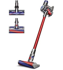 Dyson, v6, motor, head, cordless, vacuum, hygenic, mobile, handheld, docking, station, digital, motor, hepa