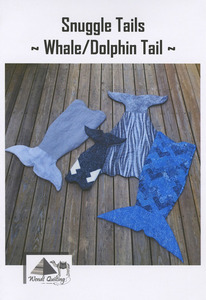 Wendt Quilting DW309 Snuggle Tails - Whale/Dolphin pattern